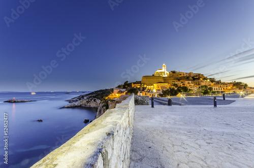 Veduta Ibiza Città Castello