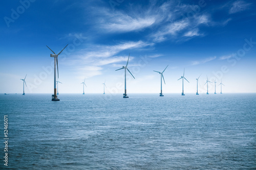 Fotografia  offshore wind farm