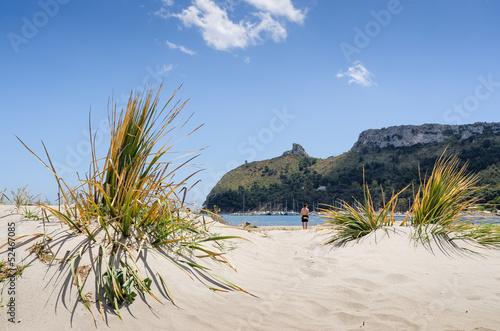 Sardegna, Cagliari, spiaggia del Poetto, Marina Piccola