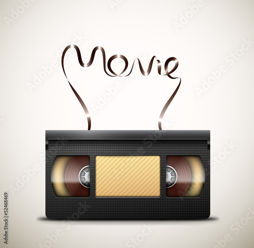 Valokuva  Movie on videotape