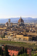 Florence Cathedral from high angle view