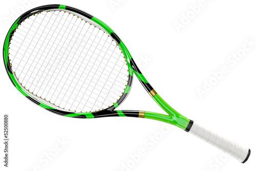 Obraz na plátně Tennis Racket Texture