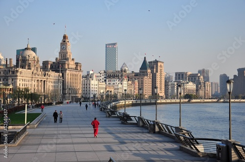 Photo  Der Bund in Shanghai China
