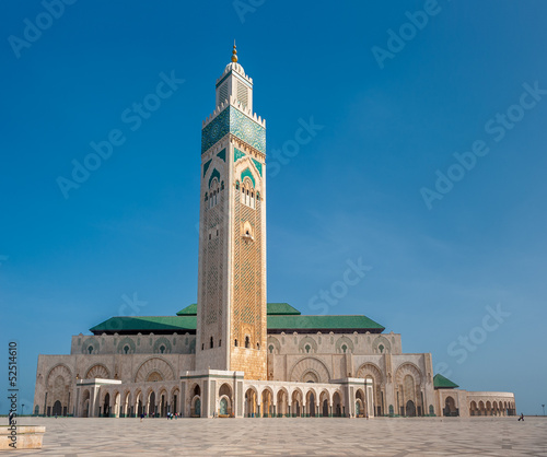 Photo  Hassan II Mosque, Casablanca. Morocco