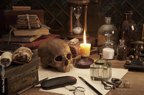 Fotografía alchemy still life