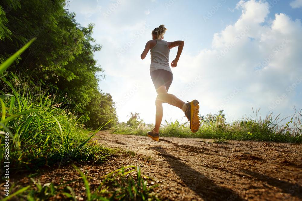 Foto-Vorhang - Run