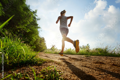 Poster de jardin Jogging Run