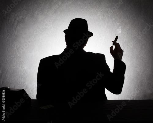 Fotografie, Obraz mafia dark