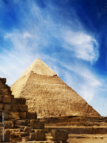 Deurstickers Egypte Pyramids in Egypt