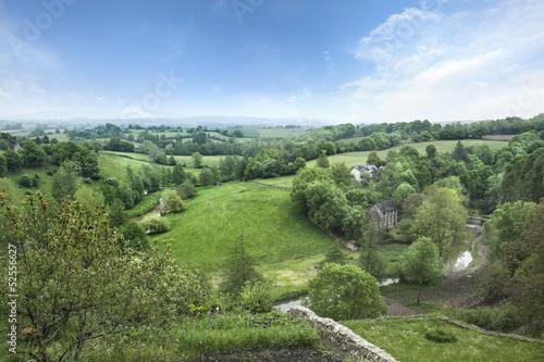Fotografie, Obraz  Paysage de Campagne Mayenne France