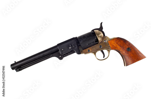 Fototapeta Antique american Colt Navy percussion revolver