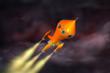 Rakete 3 Space