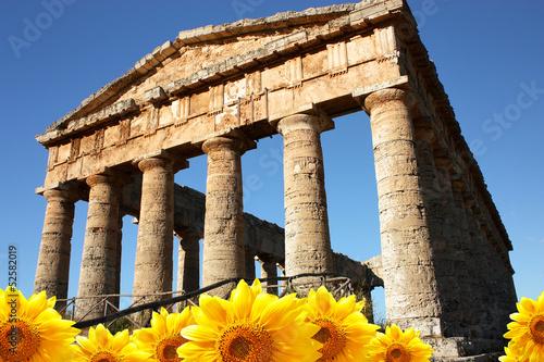Fotografie, Obraz  Tempio di Segesta