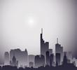 city on gray