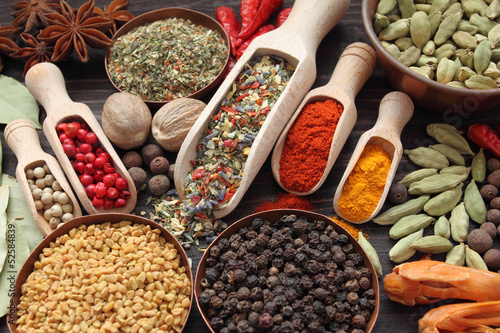 Photo  Blend of spices