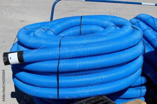 Valokuva  Gaine de protection de tube d'adduction d'eau potable