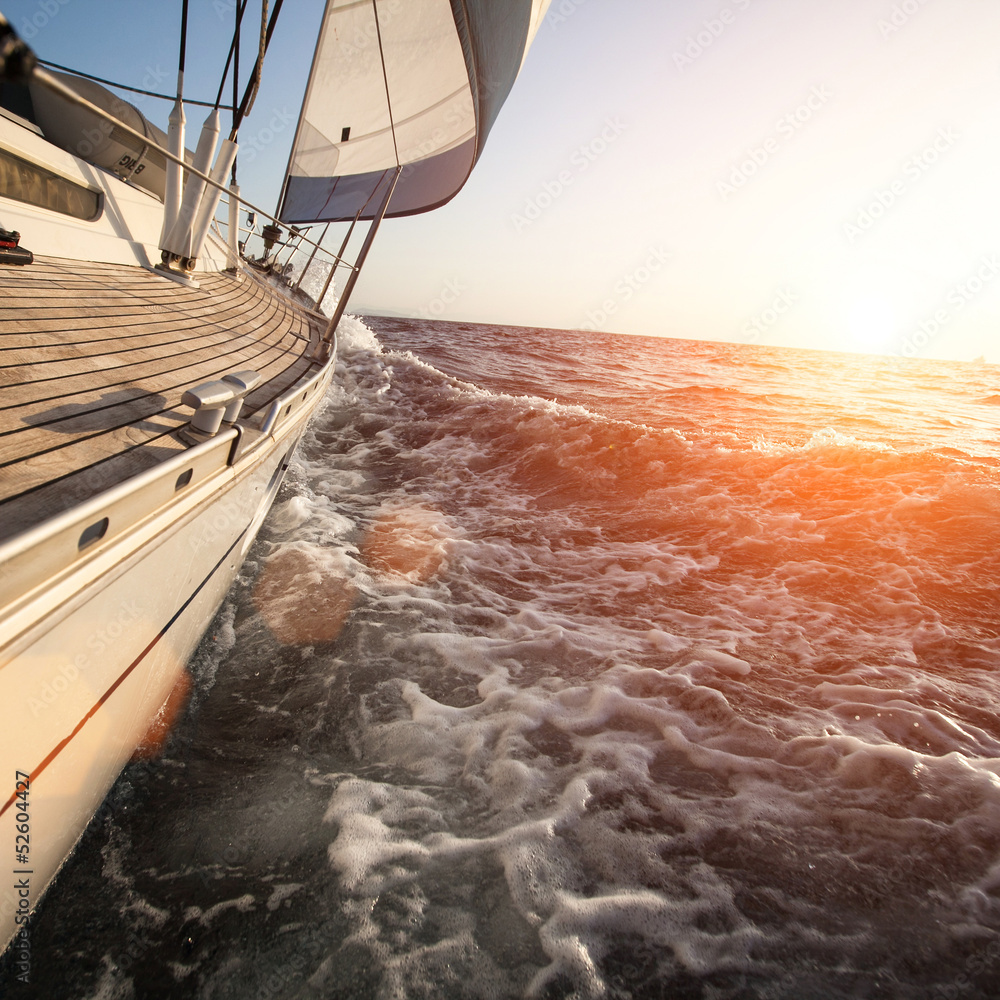 Fototapety, obrazy: Sailing in Greece