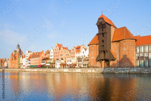 Zuraw and old embankment, Gdansk © neirfy