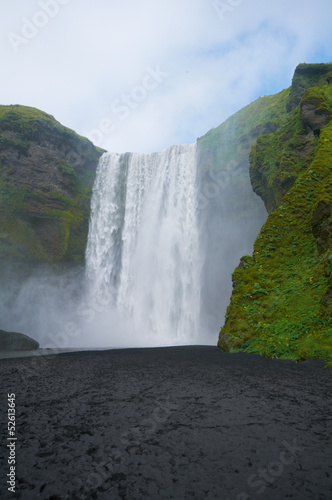 Fototapety, obrazy: Skógafoss, Iceland