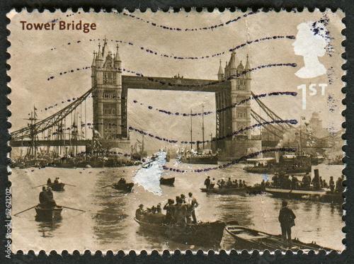 Fotografia  Postage stamp.