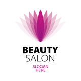 abstract logo beauty salon