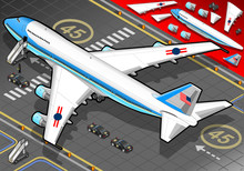 Isometric Air Force One In Rea...