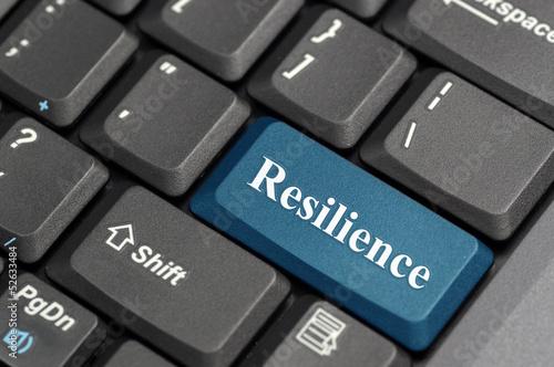 Fotografía  Resilience on keyboard