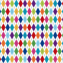 Seamless Pattern With Dotted L...