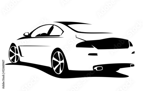 Tuning Car Silhouette Buy This Stock Vector And Explore Similar