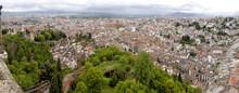 Panoramic View Of Granada As S...