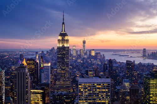 Photo sur Aluminium New York New York City