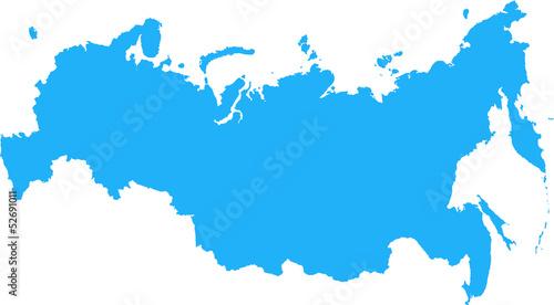 Obraz Russian Federation Map - fototapety do salonu