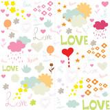 cute love pattern