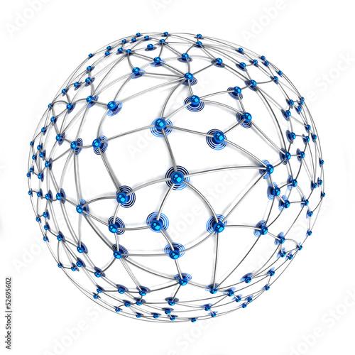 Fotografia  Digital connection concept