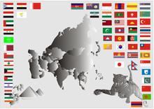 Kontinent - Mittlerer Osten-As...