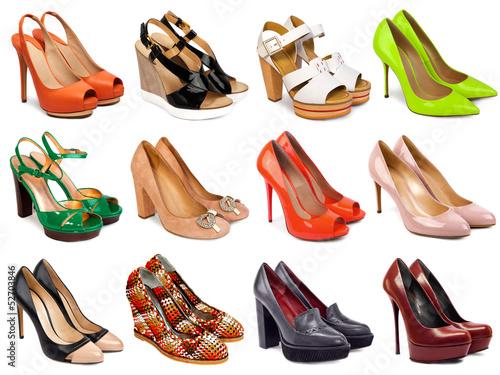 Fotografia  Female footwear collection-4