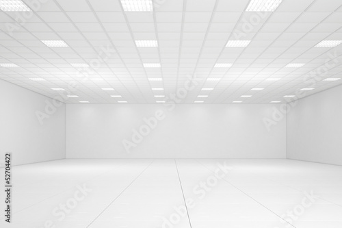 Empty office room Poster Mural XXL