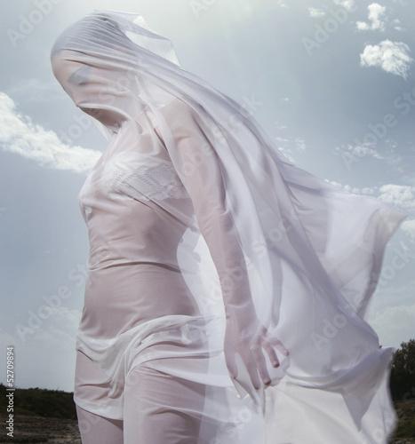 Sposa Fototapet