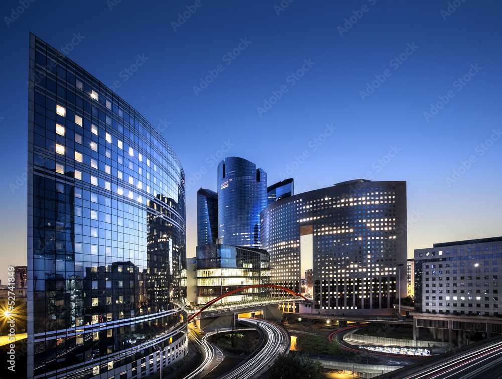 Fototapety, obrazy: Paris La Defense