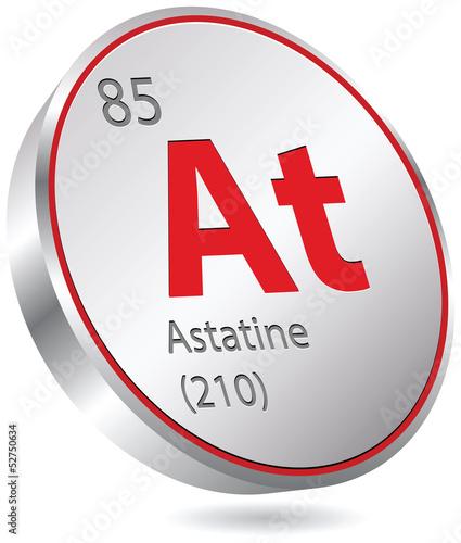 Photo astatine element
