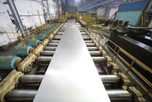 Pressing Machine Of Rolling Mill Makes Sheet