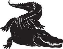 Big Crocodile With Terrible Ca...