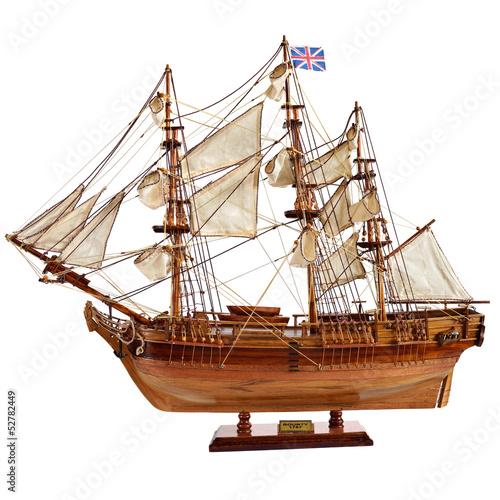 Fotografie, Obraz  Replica of the old sailfish Bounty