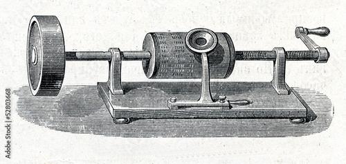 Fotografía Edison's phonograph