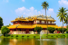 Chinese Style Palace Of Wehart Chamrunt In Bang Pa-In Palace, Ay