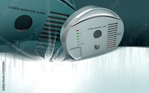 Carbon monoxide alarm Canvas-taulu