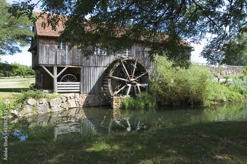 Aluminium Prints Mills Vieux moulin à eau