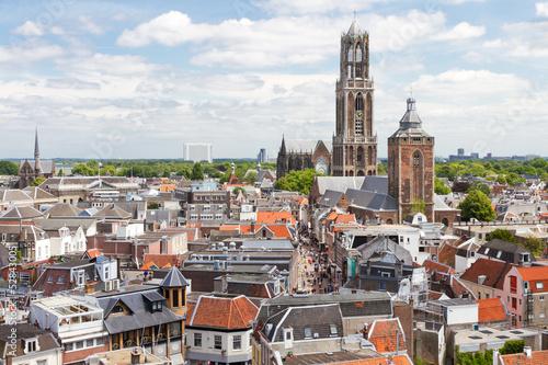 Fotografie, Obraz  Utrecht aerial view, Netherlands