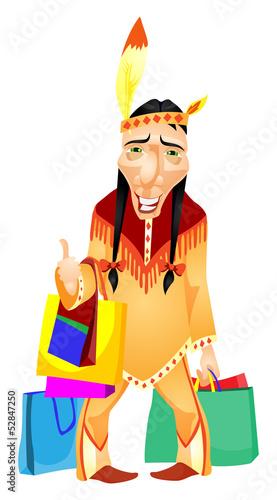 Fotobehang Indiërs Aborigine
