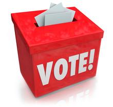 Vote Word Ballot Box Election ...